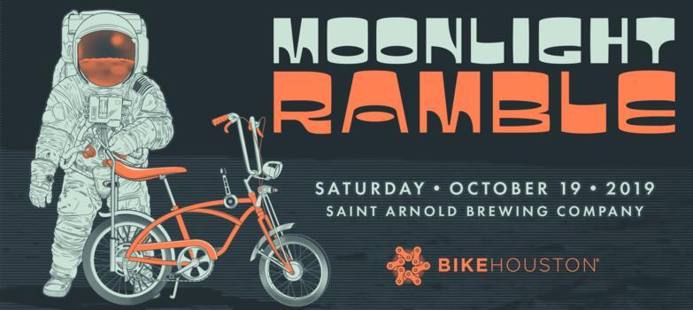Bike Houston's Moonlight Ramble @ Saint Arnold Brewing Company | Houston | Texas | United States